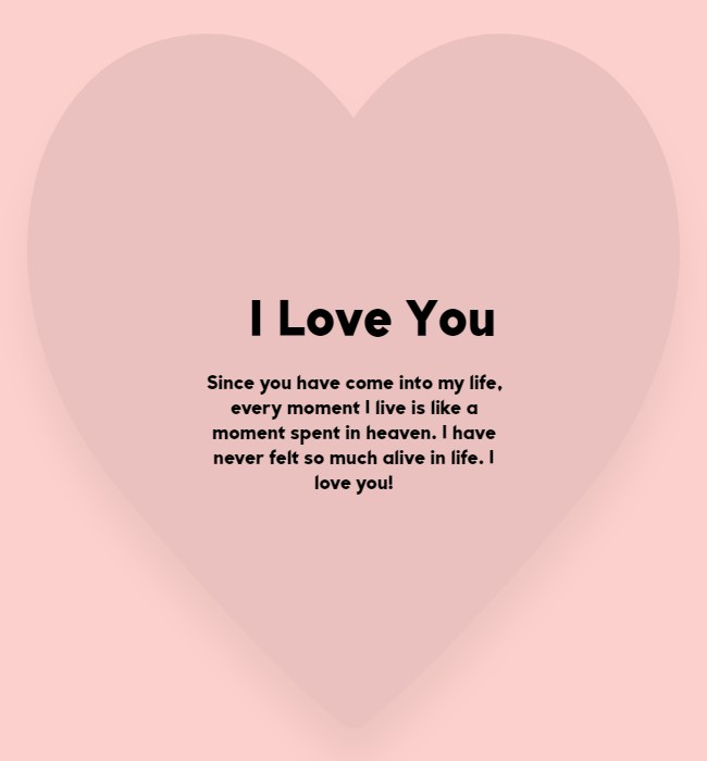 love text messages for him and her