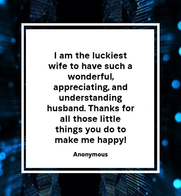 Thank You Messages for Husband - Quotes And Wishes